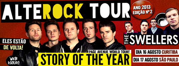 ALTEROCK TOUR 2013 com Story of The Year e The Swellers