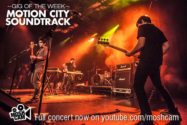 Assista show do Motion City Soundtrack na íntegra