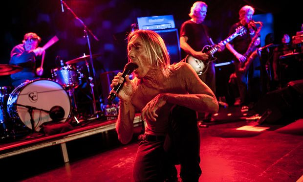 Iggy and The Stooges em Nova York