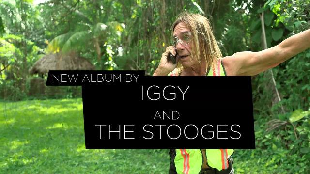 Iggy Pop lança comercial para o novo disco