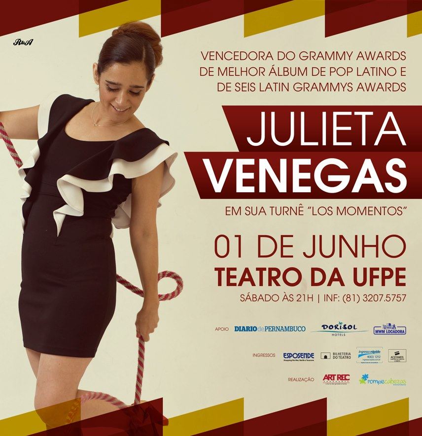 Julieta Venegas no Recife
