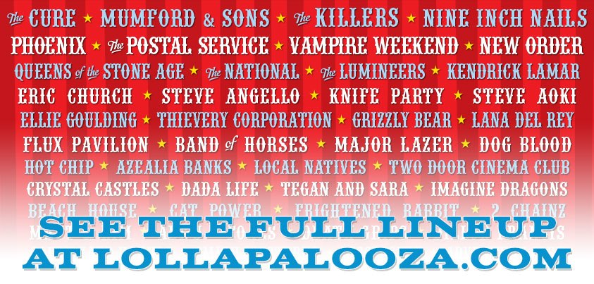 Lollapalooza Chicago 2013