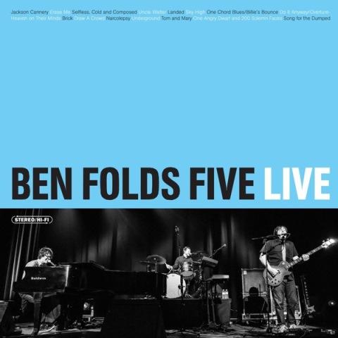 Capa de Ben Folds Five Live