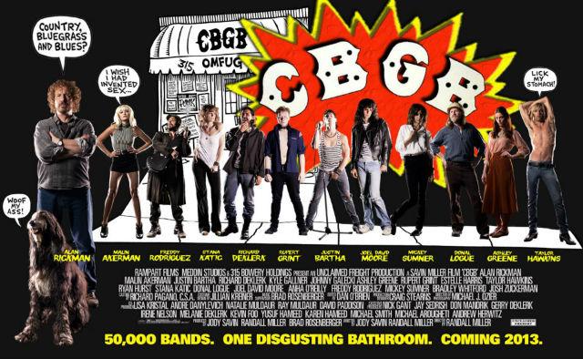 Filme sobre reduto punk nova iorquino CBGB ganha cartaz