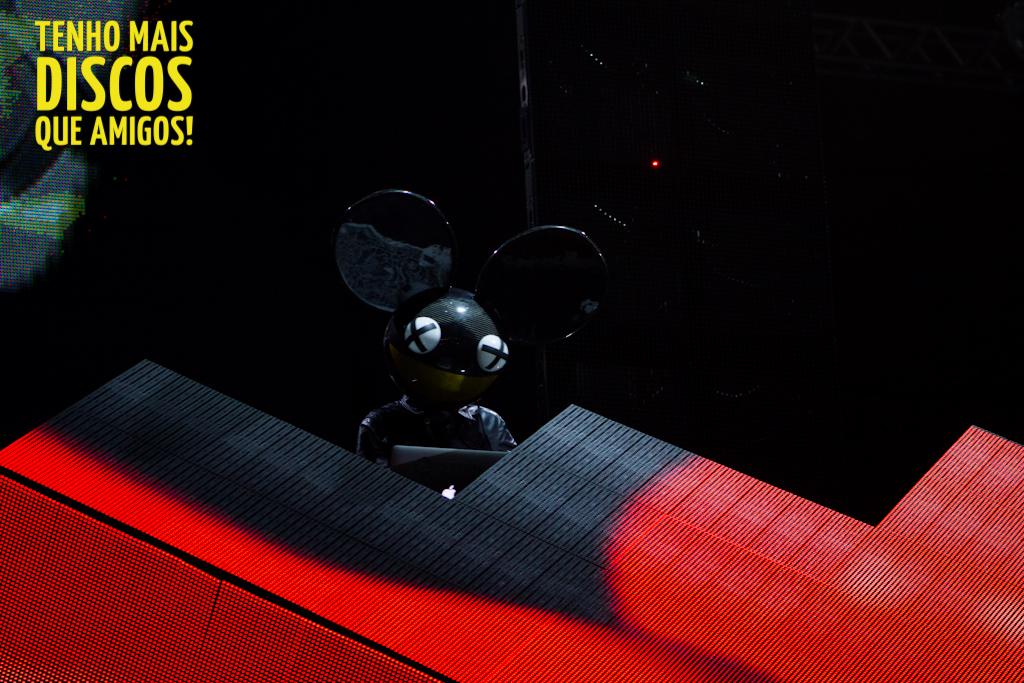 deadmau5 no Lollapalooza Brasil 2013