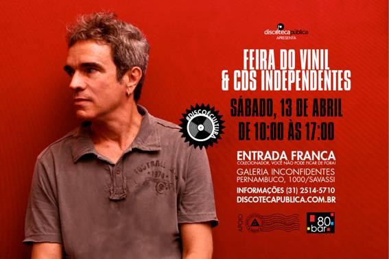 Feira do Vinil e CDs Independentes em Abril