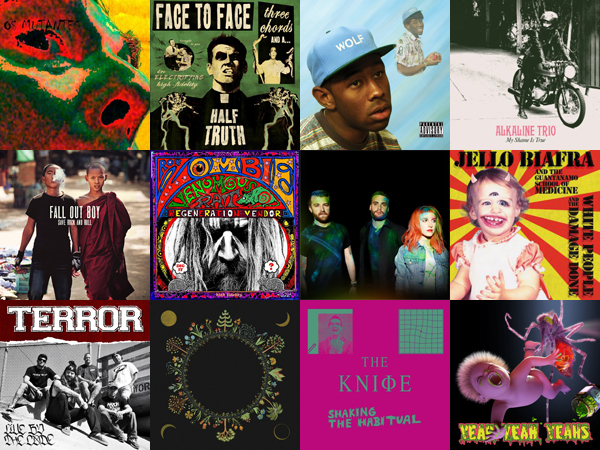 28 discos que você deveria ouvir em Abril