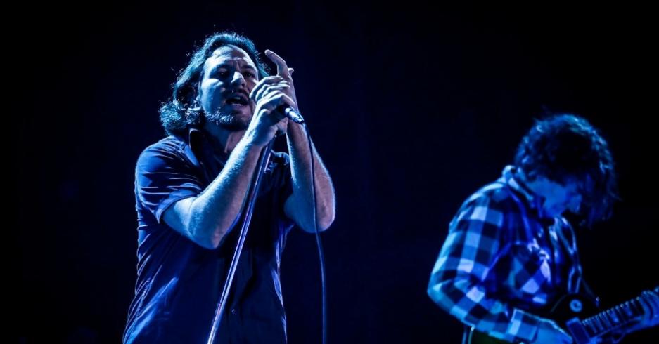 Pearl Jam no Lollapalooza Brasil