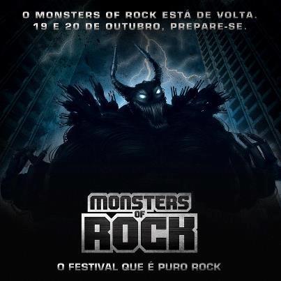 Festival Monsters of Rock volta ao Brasil neste ano