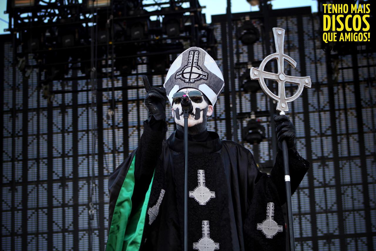 Ghost Band Unmasked - klejonka