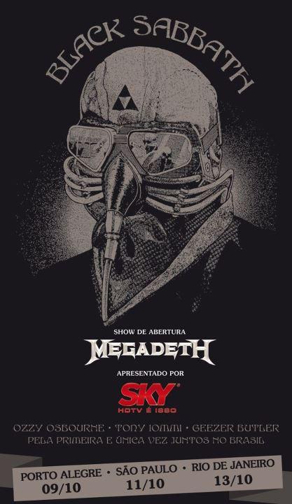 Black Sabbath no Brasil: todos os detalhes sobre venda de ingressos