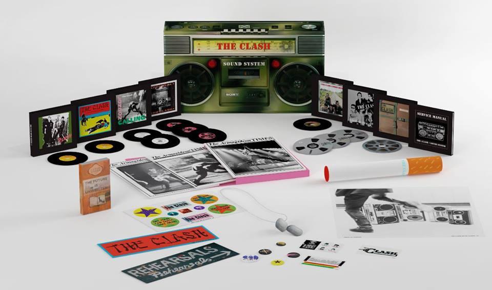 Caixa (box) do The Clash, Sound System