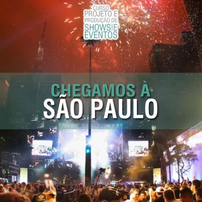 Curso de produção de shows em São Paulo