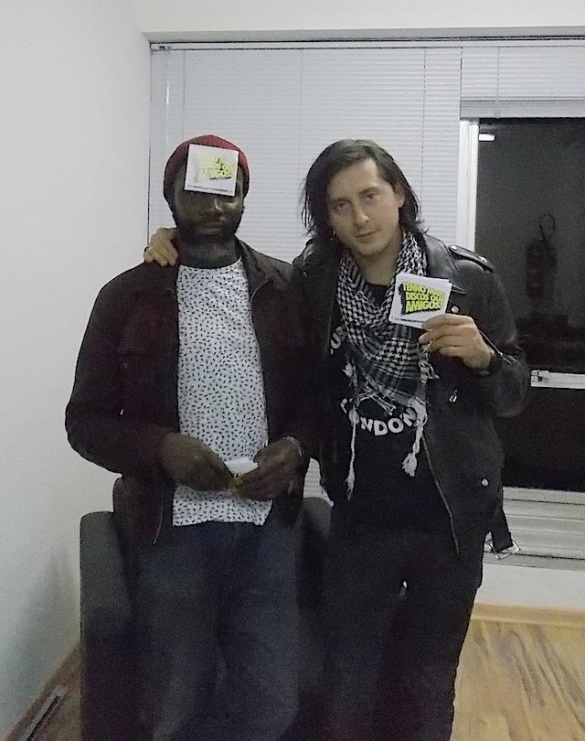 Garry e Carl - adesivos