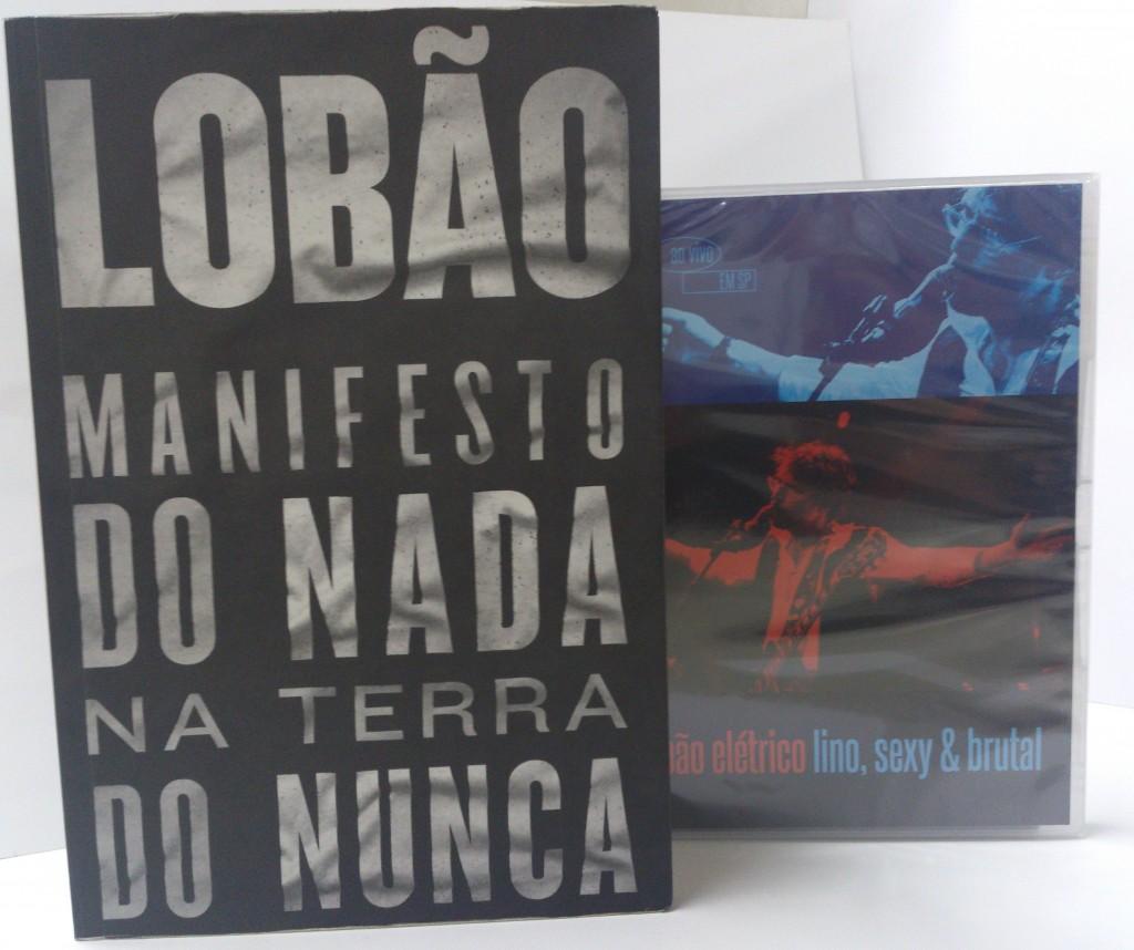 Lobão livro + DVD
