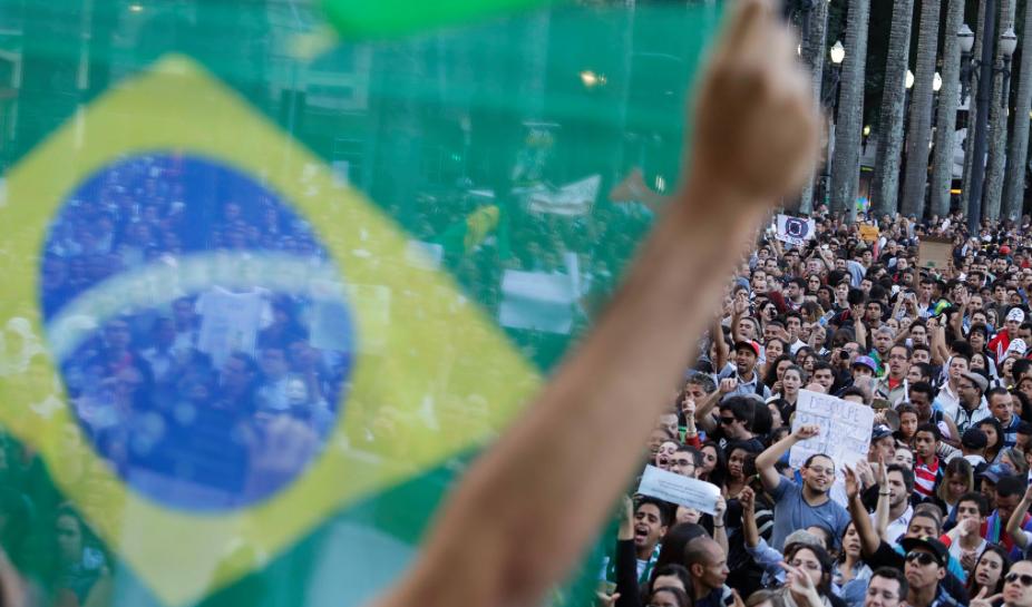 Manifestação São Paulo Praça da Sé 18-6