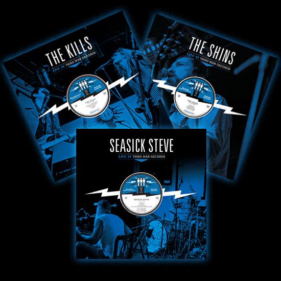 Third Man Records lançará álbuns ao vivo de The Kills, Seasick Steve e The Shins