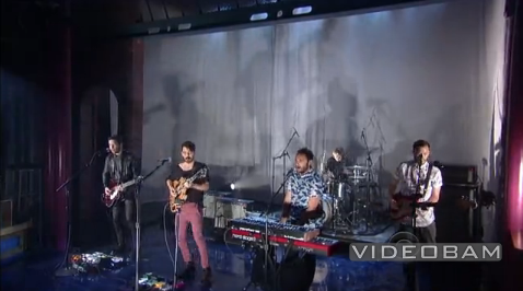 Local Natives no Letterman
