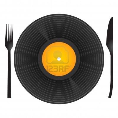 música e comida