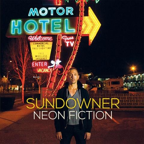 Capa de Neon Fiction, novo disco do Sundowner