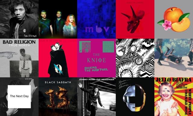 160 discos que você deveria ter ouvido em 2013