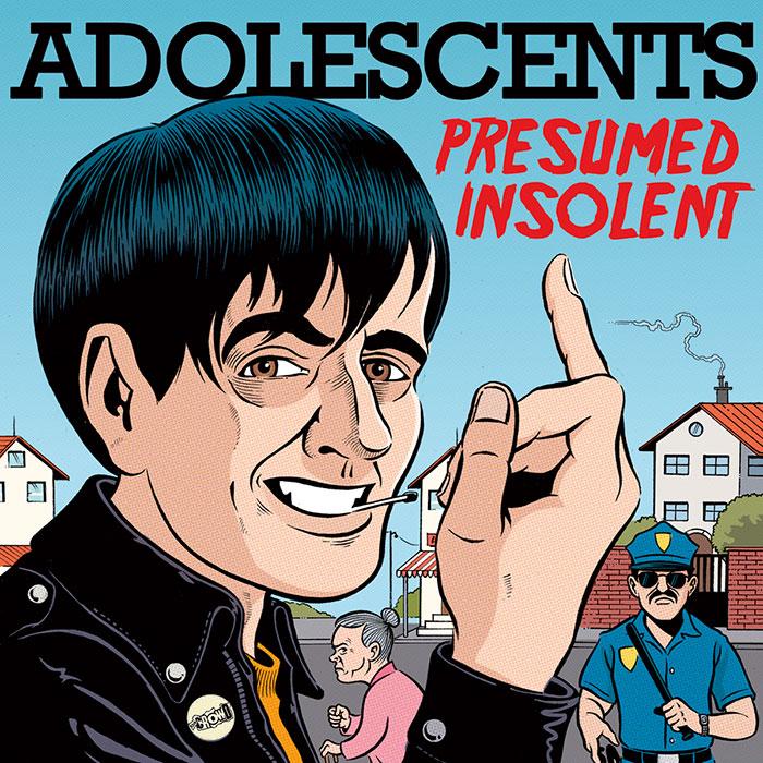 Novas músicas: Adolescents e Touché Amoré