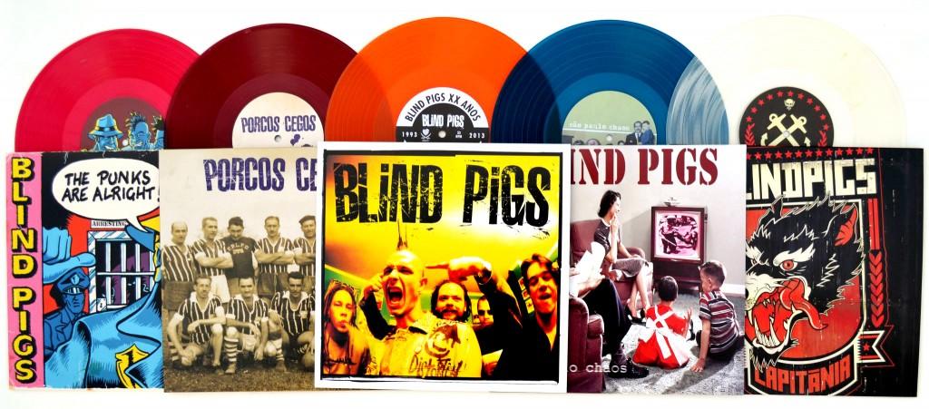 Blind Pigs relança discos em vinil colorido
