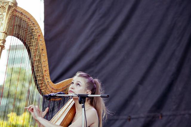 Joanna Newsom toca música nova no Festival Pitchfork, em Chicago