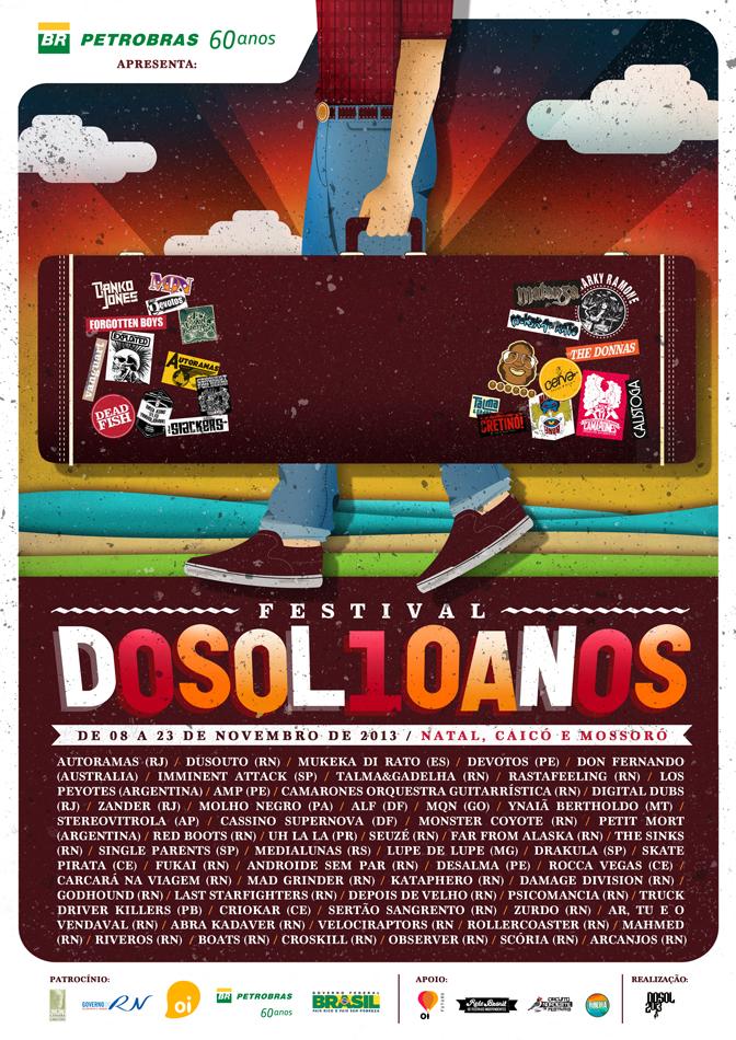 Programação completa do Festival DoSol 2013 é revelada