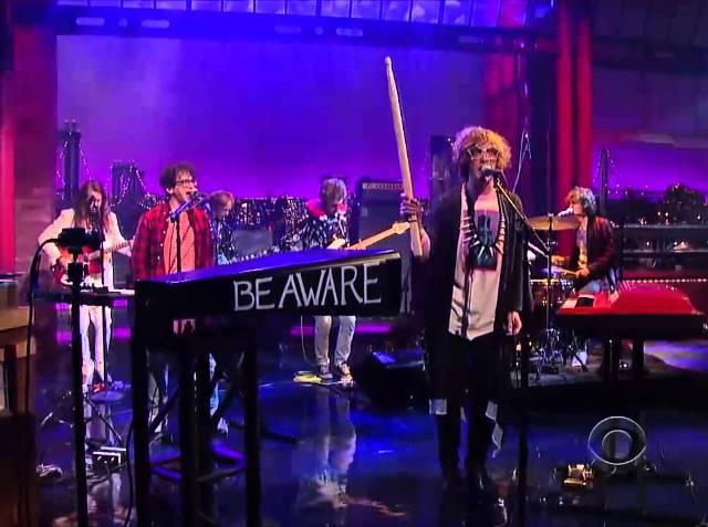 MGMT no programa de David Letterman