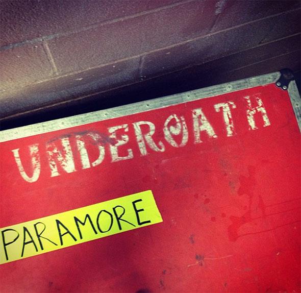 Paramore convoca ex-baterista do Underoath para sua turnê