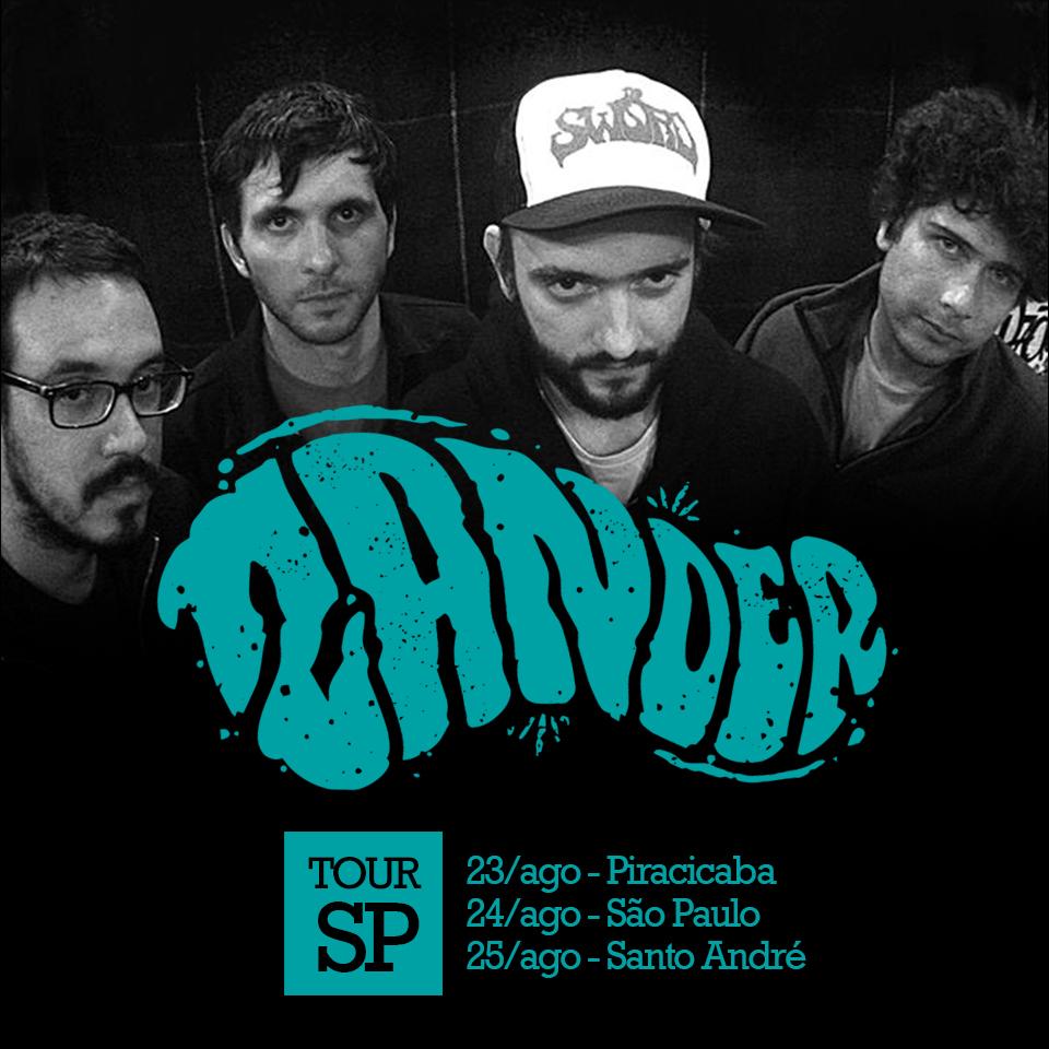 Zander faz mini turnê em São Paulo