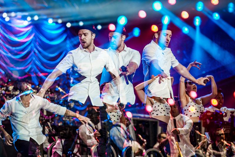 Justin Timberlake no Rock in Rio