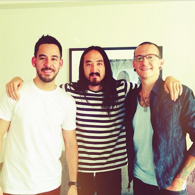 Nova música de Linkin Park e Steve Aoki