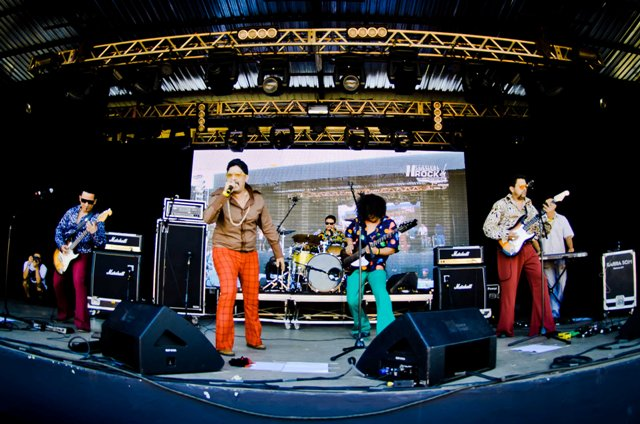 The Stone Ramos no II Festival Amazonas Rock