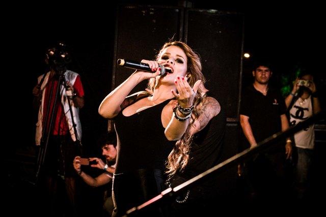 Madame Saatan no II Festival Amazonas Rock