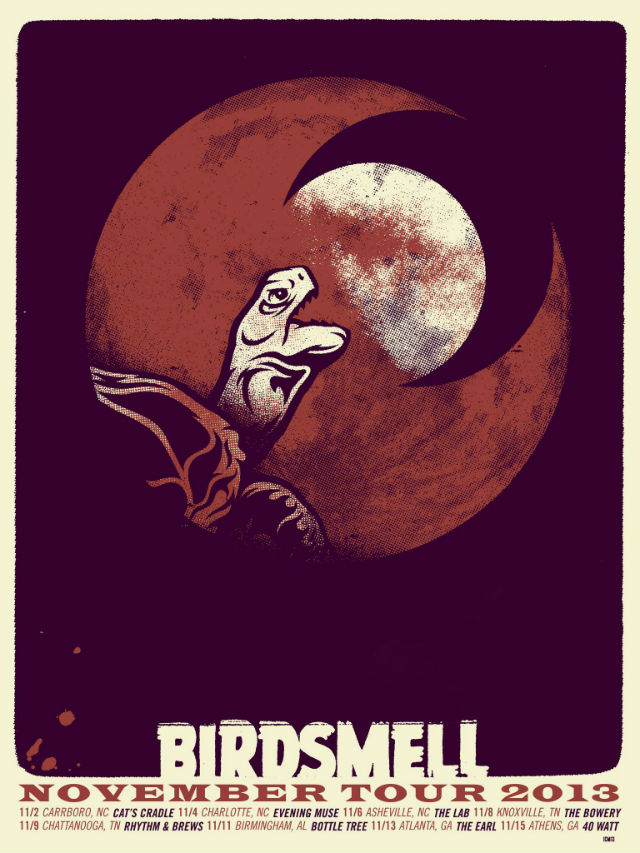 Birdsmell: projeto solo do vocal do Band Of Horses anuncia turnê