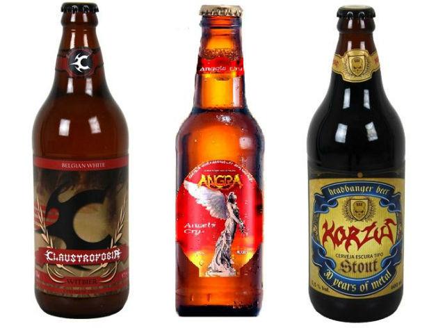 Claustrofobia, Korzus e Angra lançam cervejas próprias