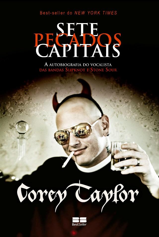 Capa da autobiografia de Corey Taylor