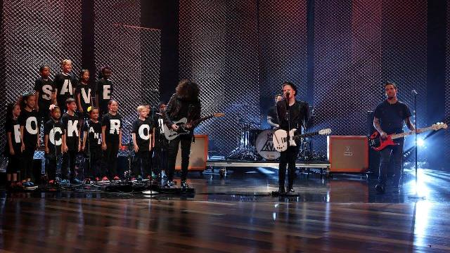 Fall Out Boy no programa de Ellen DeGeneres