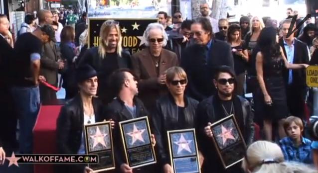 Jane's Addiction ganha estrela na Calçada da Fama de Hollywood