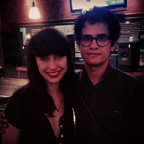 Kimbra e Omar Rodriguez Lopez gravam juntos