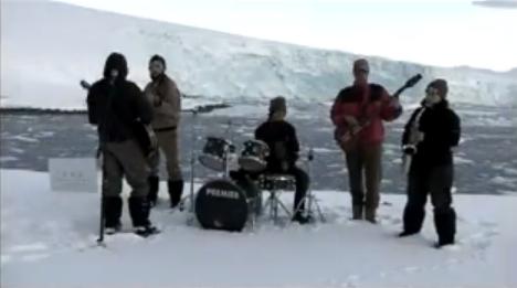 nunatak Metallica fará show na Antártida