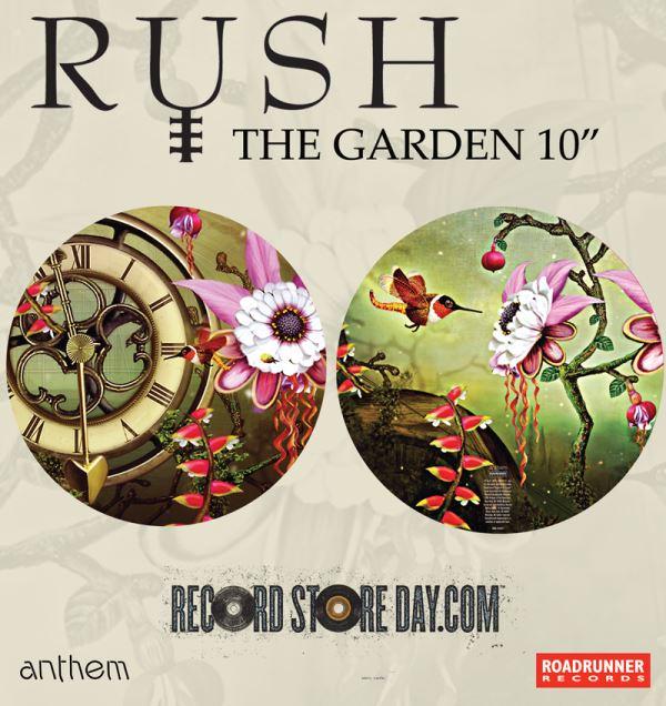 Rush lança compacto em vinil picture disc