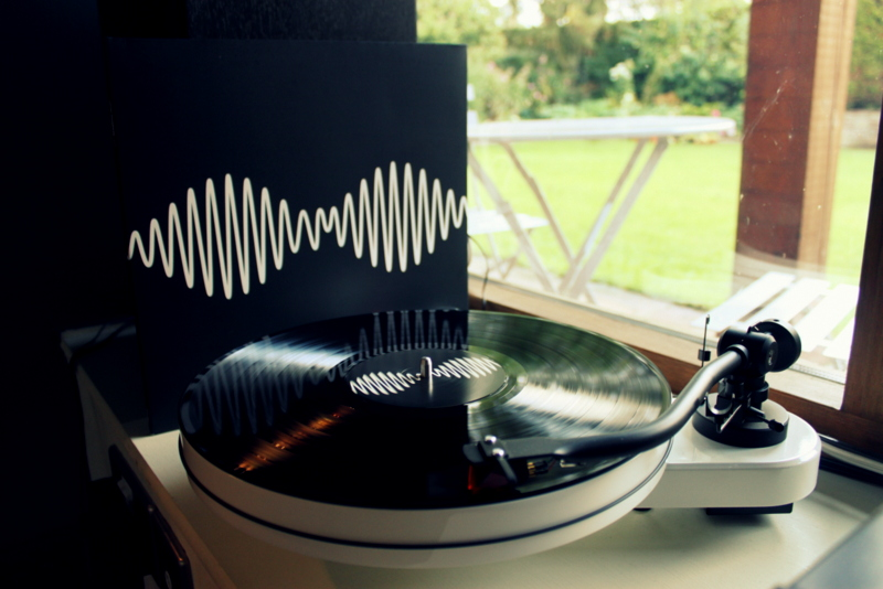 AM, do Arctic Monkeys, em vinil