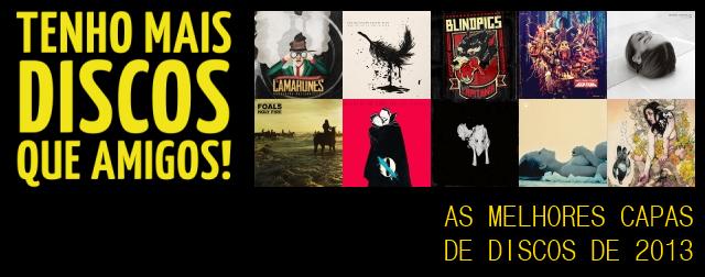 As melhores capas de discos de 2013
