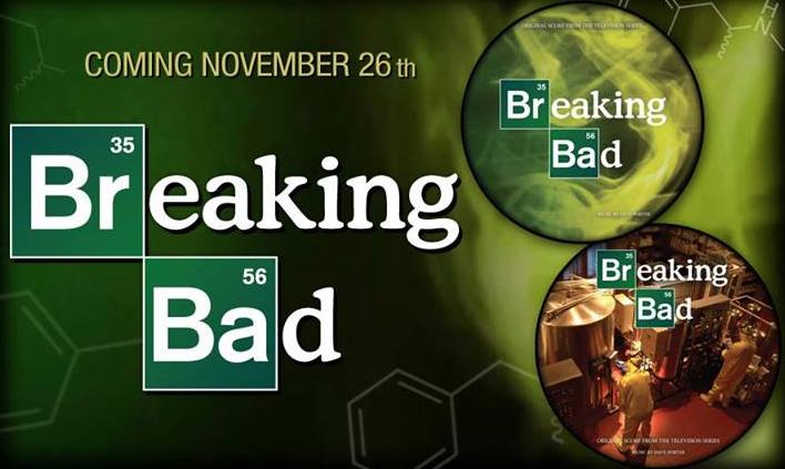 "Trilha sonora da série ""Breaking Bad"" será lançada em vinil"
