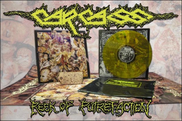 Carcass relança seu primeiro disco