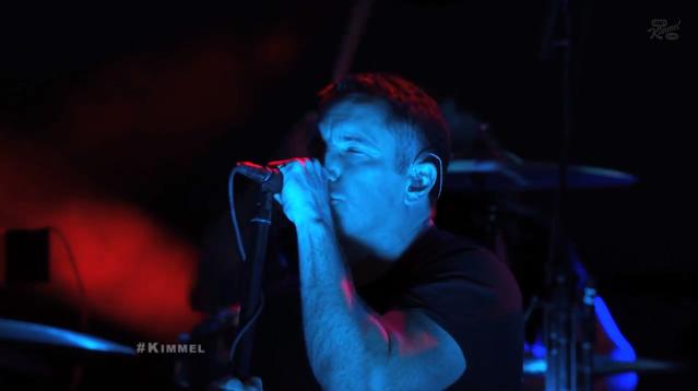 Nine Inch Nails no programa de Jimmy Kimmel