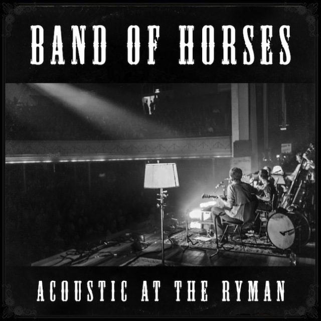 Capa de Acoustic at the Ryman, novo disco da Band of Horses